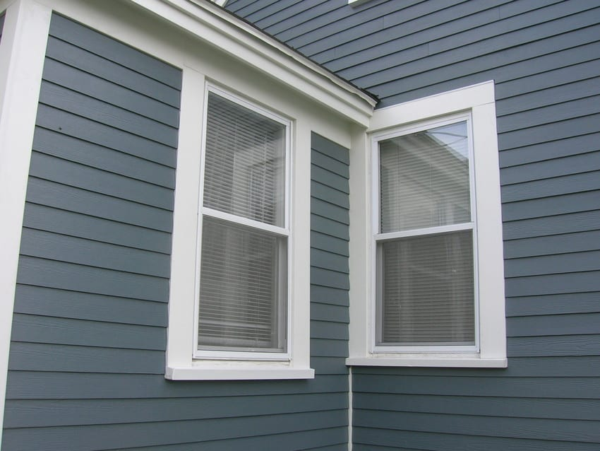 Replacement Windows Double Hung With Azek Trim And Sill