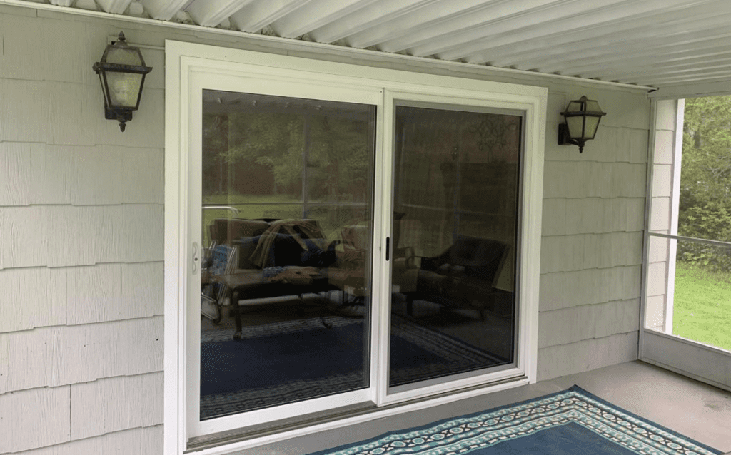 Markey Windows, Doors & More proudly installed this new patio door in Branchburg, NJ