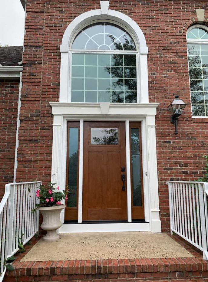 Provia Fiberglass Entry Door - Hillsborough NJ Home Remodeling by Markey Windows, Doors & More